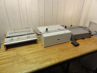 Renz Dtp 340m Electric Desktop Punch Machine Cl3000 Electric Coil Inserter