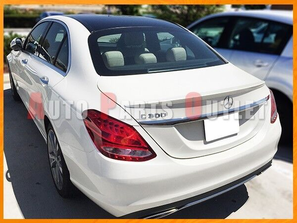 15-16 Mercedes Benz W205 C-CLASS Sedan AMG Style Look Trunk Spoiler - Painted