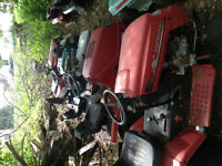 Parting out on many Lawn tractors