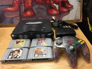 - N64 Collection CLEARANCE ! N64 console only $75!!!!