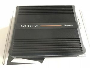 Hertz DPower 4 Channel 600watts D Class Amp