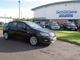 VAUXHALL ASTRA 1.6 ENERGY 5d 113 BHP One Previous Owner, FSH Nati (black) 2013