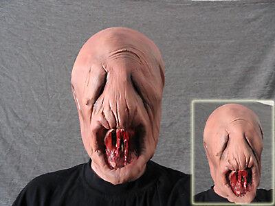 Latexmaske ALIEN LARVE - Horror Effekt Gummi Zombie Latex Maske SciFi Halloween