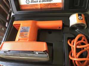 Black and decker sander and polished for sale