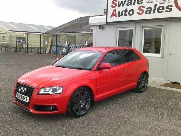 2009 AUDI A3 S-LINE TDI 2L ONLY 73,574 MILES, FULL SERVICE HISTORY
