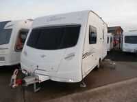 SAVE £1500 * 2008 LUNAR CLUBMAN 475 LUX 2-BERTH * LISBURN CARAVAN CENTRE * OPEN LATE TUES & THURS *