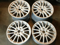 "19"" Porsche 911 Sport Design wheels Painted White"