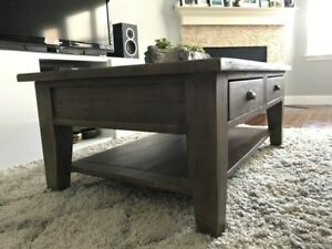 Beautiful Irish Coast Reclaimed Wood Coffee Table