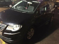VW Touran 2.0 TDI black 7 seater,Auto,quick sale
