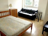 HUGE DOUBLE Room in MILE END, LIMEHOUSE, Canary Wharf, E14, Westferry
