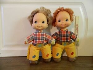 """Mattel 1974 Twin collectable Cowboys 12"""" tall"""