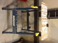 Clamping work stand