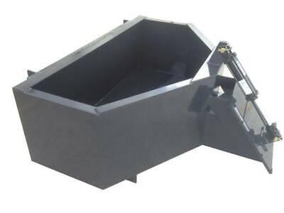Mini Skid Steer 12 Yard Concrete Bucket - Hopper Toro Dingo Etc