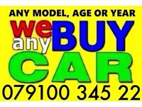 07910034522 WANTED CAR VAN FOR CASH BUY YOUR SCRAP SELL MY SCRAPPING R