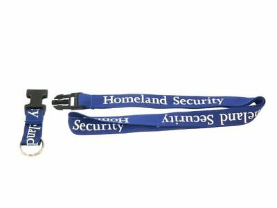Security Lanyard (Homeland Agency Security Lanyard ID Badge Holder Key Ring Customs TSA SSA)