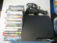 PS3 120gb,1 controller,CAM,charger,leads, 22 games+ more..