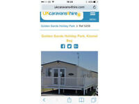 Beautiful caravan for hire on Golden Sands, Towyn