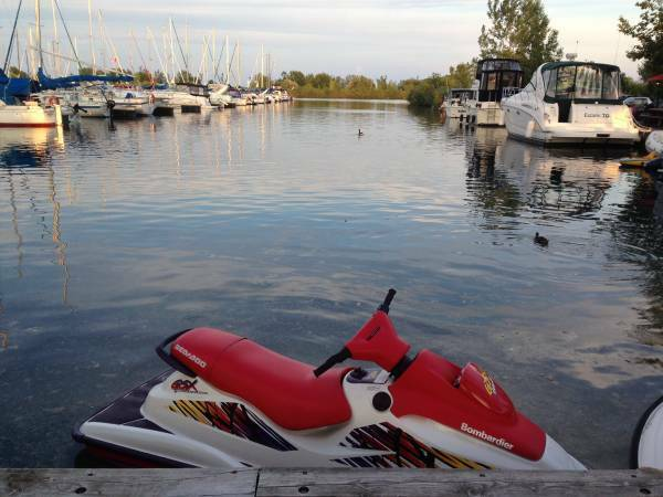 Used 1997 Sea Doo/BRP 1997 Seadoo GSX with Northtrail Trailer