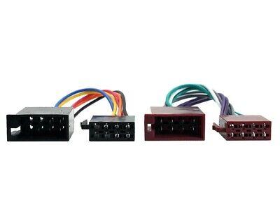 Renault Modus Safrane ISO Stereo Headunit Harness Adaptor Wiring Loom Lead
