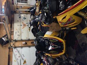 Rev ski-doo parts and zx look At a few pics 709-597-5150
