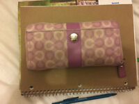 Limited Edition Purple Coach Wallet