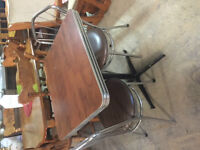 EXCELLENT CONDITION; IDEAL FOR SMALL SPACE TABLE AND 2 CHAIRS
