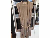 "Long Sleeveless Cardigan ""Autograph"" M&S"