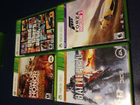 Xbox 360- Medal Of Honor, GTA V, Battlefield 4, Forza Horizon 2