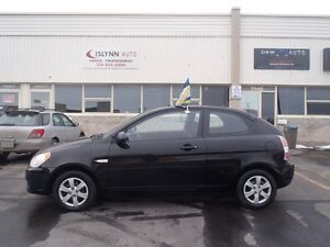 2009 Hyundai Accent GL Coupe (2 door). AC, Group Electrique..!!