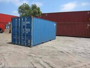 20' Cargo Worthy Shipping Containers SALE- KALGOORLIE $2100 + GST Kalgoorlie Kalgoorlie Area Preview