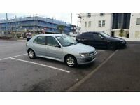 PEUGEOT 306 MERIDIAN 1.4 PETROL HATCH 2001 5 SPEED MANUAL (PARTS)