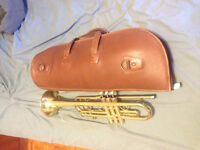 Mirage Deluxe Trumpet with Leather Blue's Gig Bag