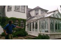 Hi & Low Window Cleaning - also gutter and rhone cleaning - domestic and commercial work