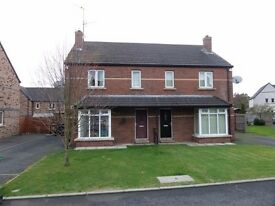 TO LET SHORT TERM 3 BED SEMI Toberhewny Hall Lurgan available end September