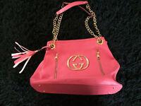 Coral Gucci handbag