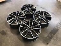 "18 19 20"" Inch RS7 Performance Style Alloy Wheels A3 A4 A5 A6 A7 A8 Caddy Van Seat Leon Skoda 5x112"