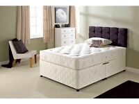 COMPLETE QUALITY SINGLE / DOUBLE /KING DIVAN BED COMES WITH ORTHOPAEDIC MATTRESS