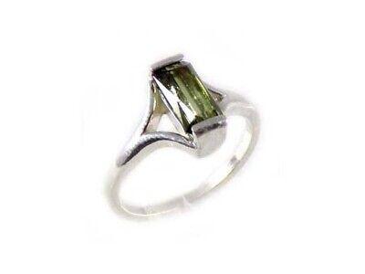 "Tourmaline Ring Rainbow Gemstone Antique 19thC Ancient Greece ""Emerald"" ""Topaz"""