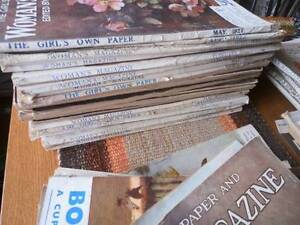 a collection of vintage women's magazines (70 + magazines)