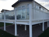 Platinum caravan for rent at Crimdon Dene park