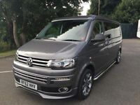 vw campervan with low low miles , mot , service history , bargain