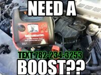 NEED A BOOST? GOT FLAT TIRE? NEED GAS? LOCKED OUT?24/7