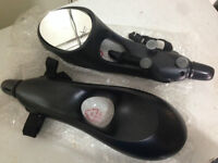 2 kinds Ext. towing mirrors / 2 sorte ext. pour mirrors