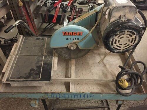 Target 1.5HP Tile Saw TA10100