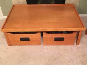 Pottery Barn kids Table with Storage