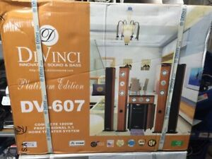 DiVinci DV-607 5.1 Home Theatre System hardly used