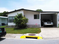 2br Mobile home for sale 22,000 OBO 10 min from the beach!