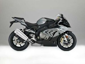 2017 BMW S 1000 RR - Granite Grey Metallic / Black Storm Metalli