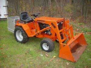Case 600 Series Loader Tractor
