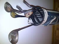 set de golf droitier northwestern pas cher idéal pour débutants